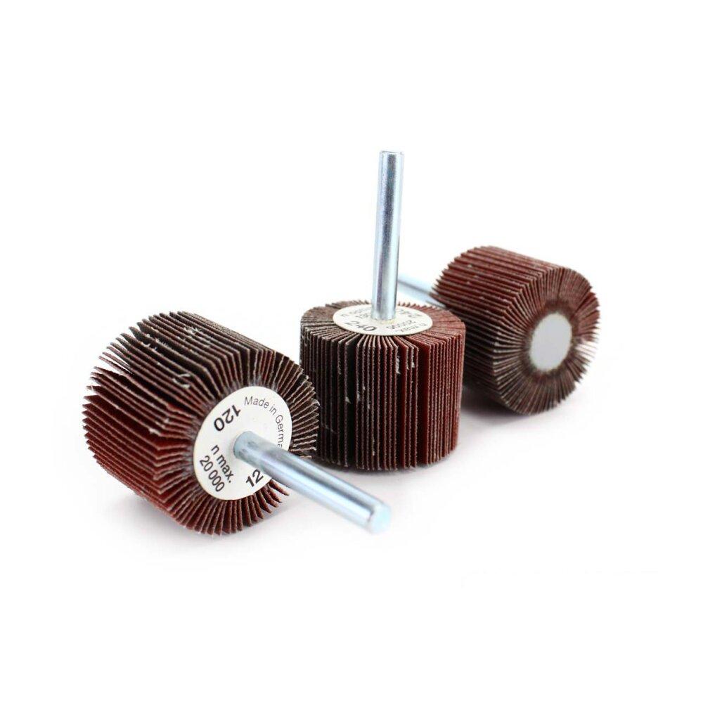 Filz Räder /& Komponente für ein Hohes Stahl Metall Polierset Bf
