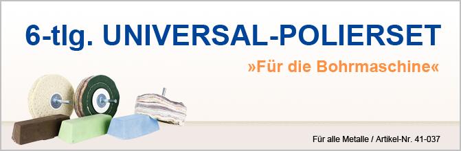 6-tlg. Universal-Polierset