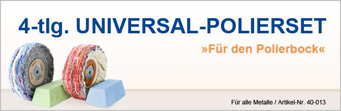 4-tlg. Universal-Polierset
